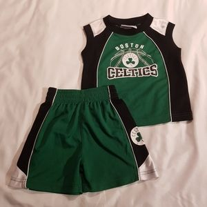 Boston Celtics short set 18 months